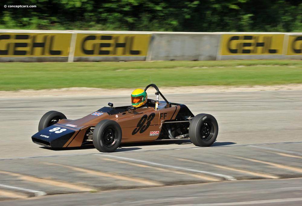 Auction results and data for 1969 Lotus Type 61 (FF, Formula Ford ...