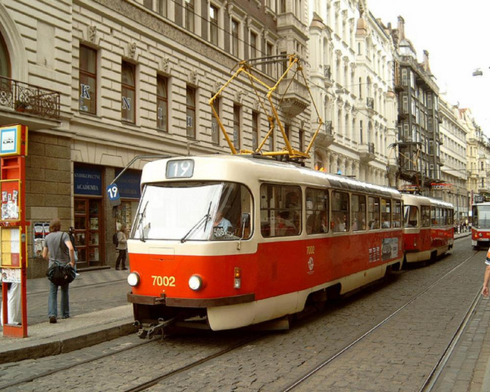 Tatra tram, Prague | Flickr - Photo Sharing!