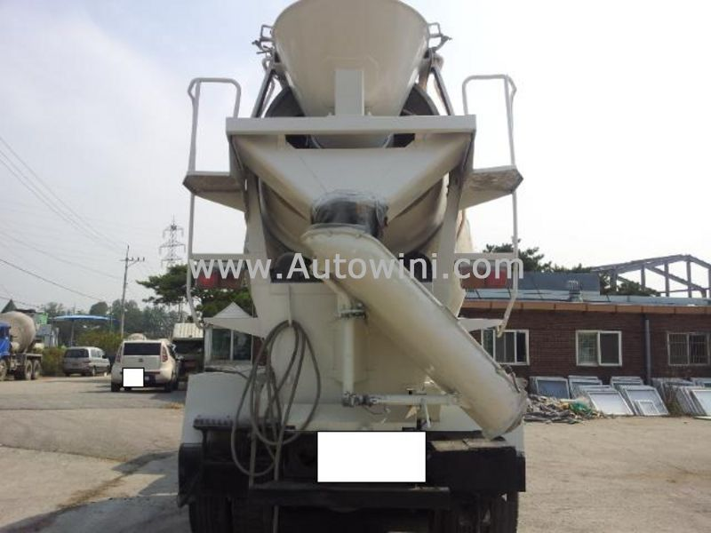 Used Equipments 1999 Samsung SM510 Concrete Machinery Mixer Truck ...