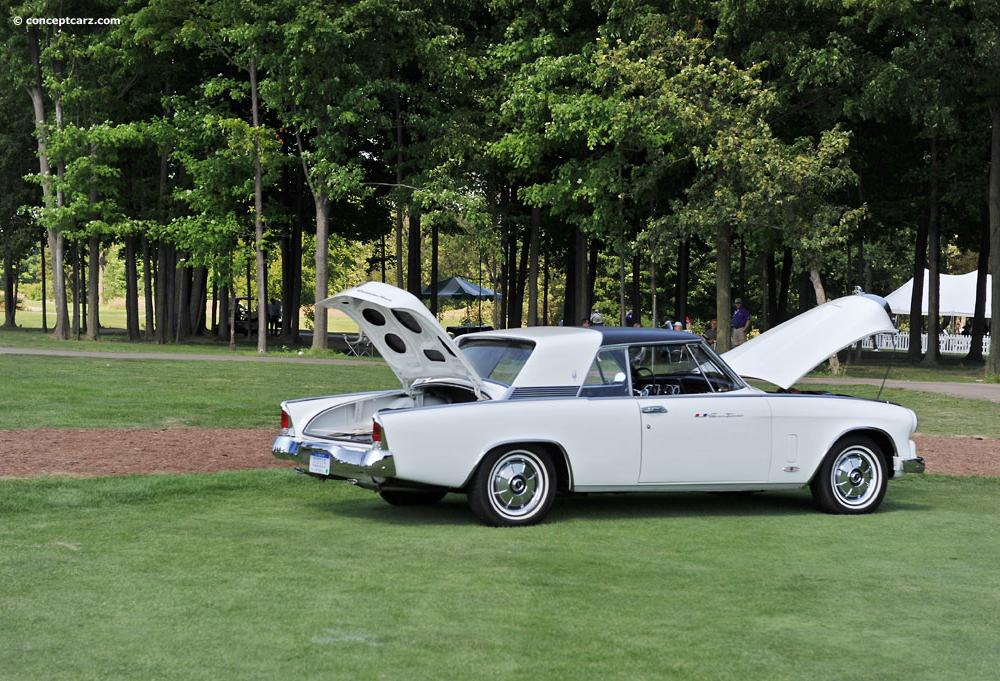 1964 Studebaker Gran Turismo Hawk Images, Information and History ...