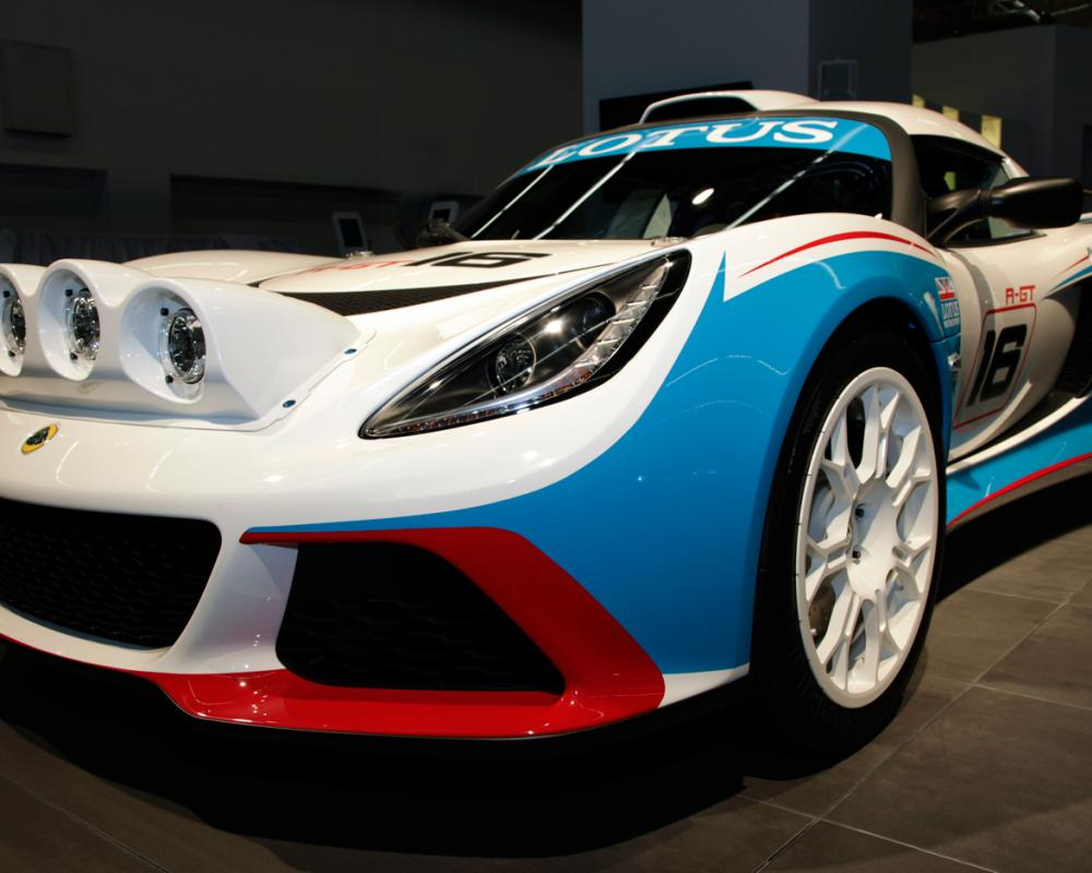 2011 Frankfurt: Lotus Goes Rallying With Exige R-GT - WOT on Motor ...