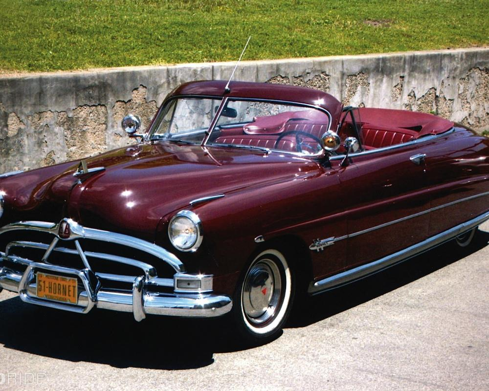 1951 Hudson Hornet Convertible Boldride.com - Pictures, Wallpapers