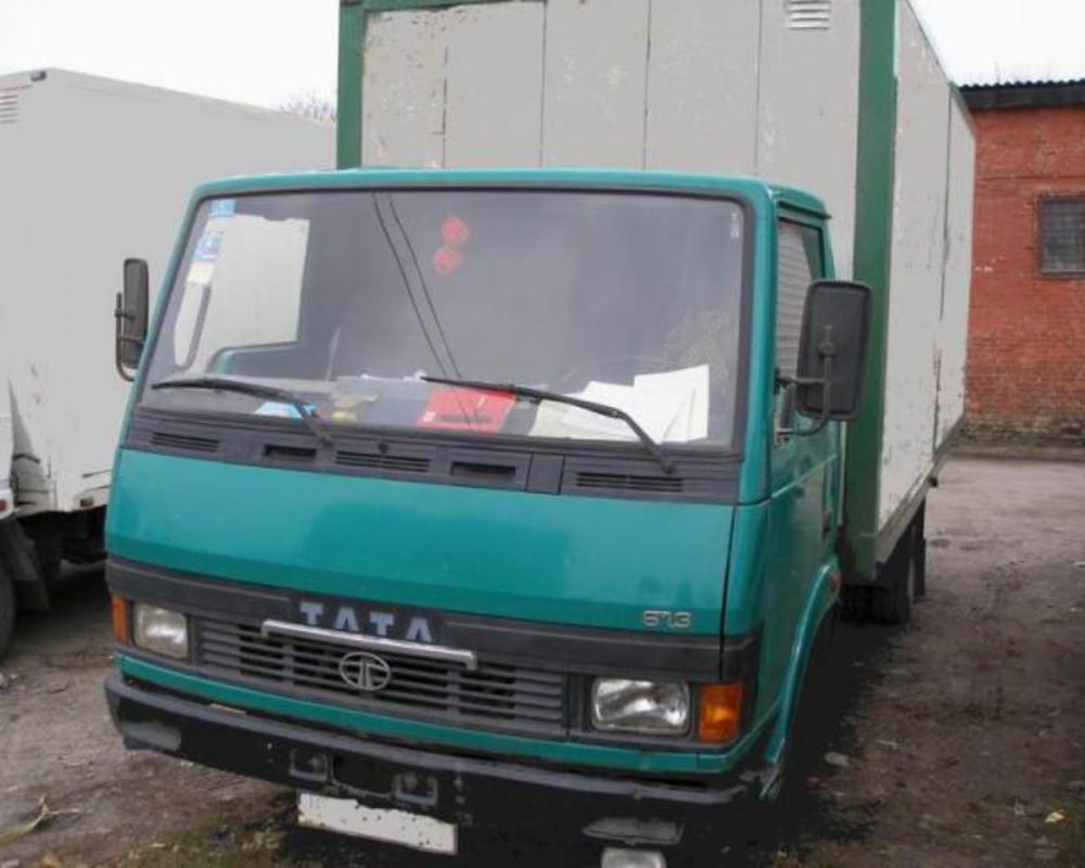 TATA LPT 613/38-04 closed box truck from Ukraine, sale, buy, price ...