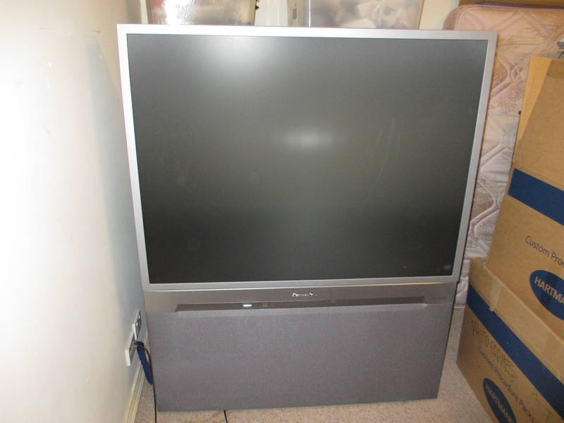 Panasonic Rear Projection TV 51' | TV & DVD players | Gumtree ...