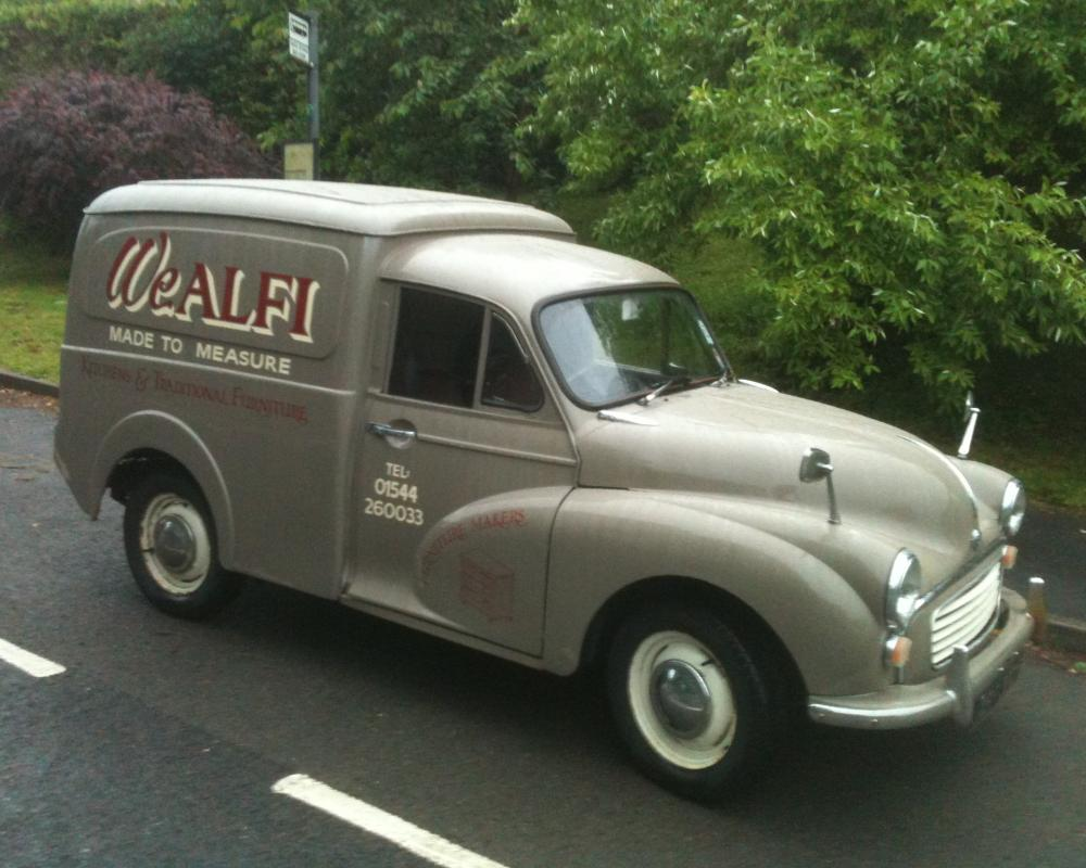 The ongoing story of our vintage Morris Minor Van | We ALFI ...