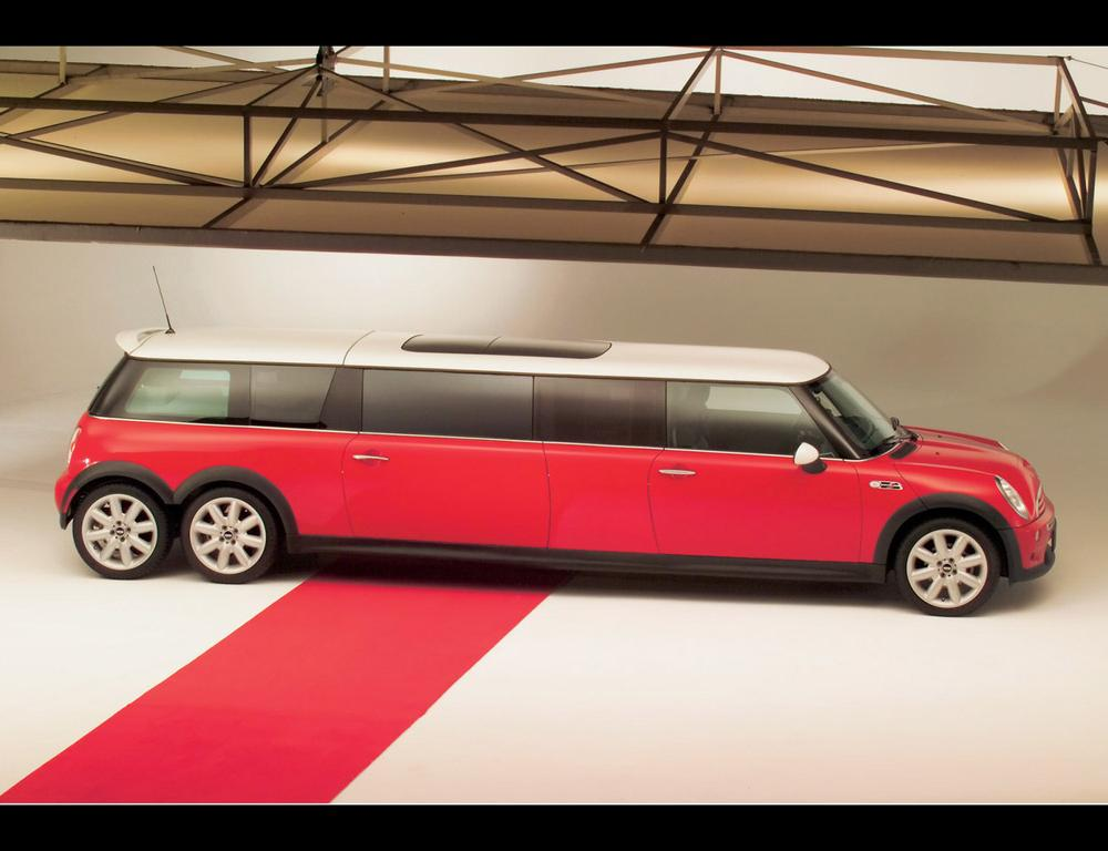 Mini XXL Stretch Limo - Side - 1024x768 Wallpaper