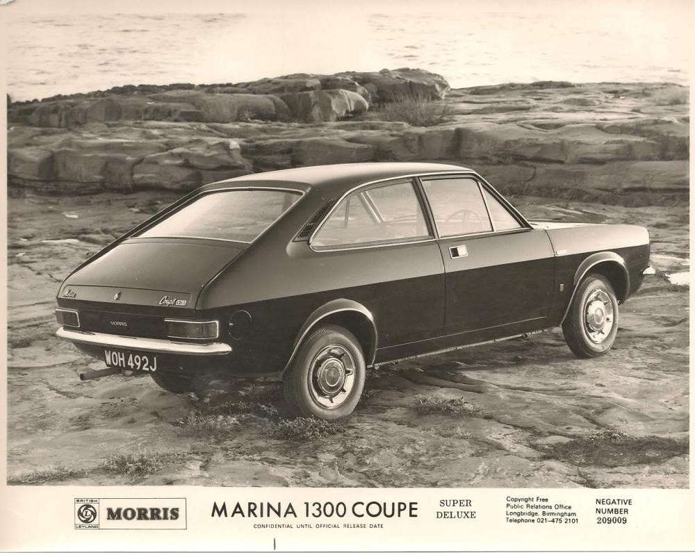 What we're Driving Today - Morris Marina Press Pack