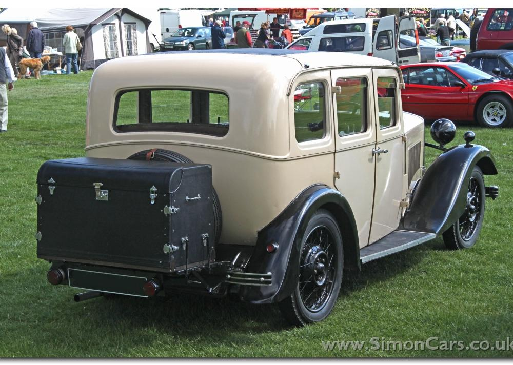 Simon Cars - Cowley Six - The Six cylinder Morris Cowley