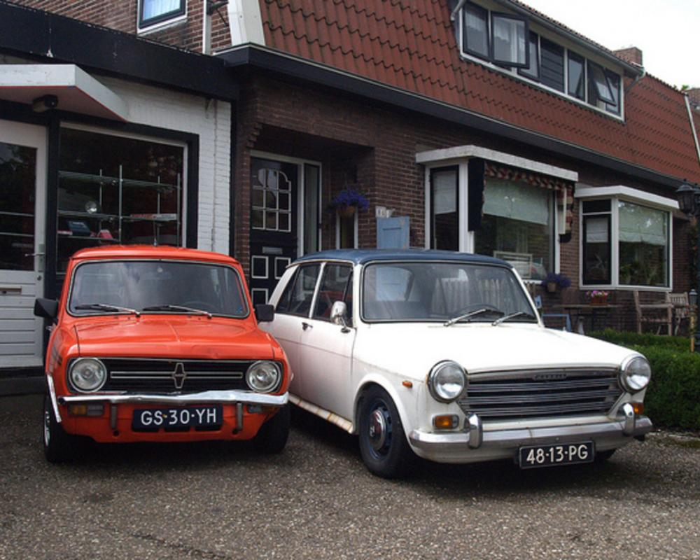 Mini Clubman and Morris 1300 | Flickr - Photo Sharing!