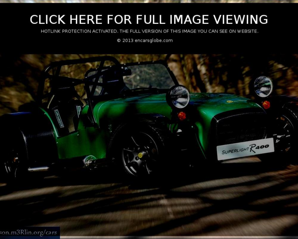 Caterham Superlight: Description of the model, photo gallery ...