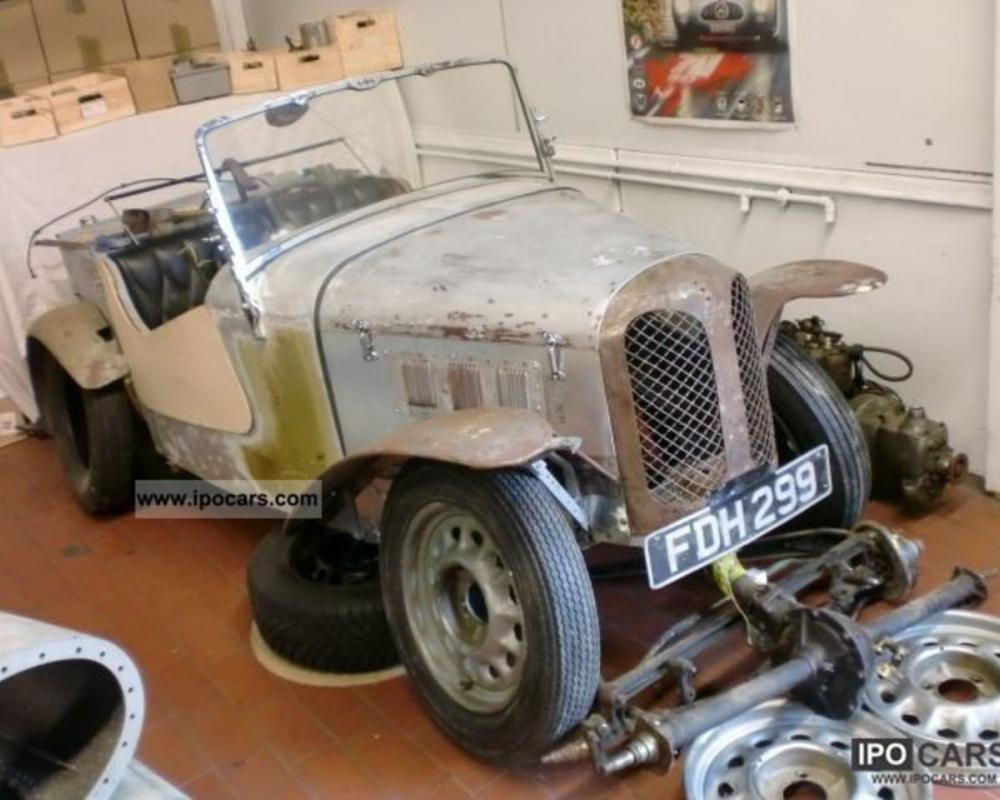 Austin seven roadster. Best photos and information of modification.