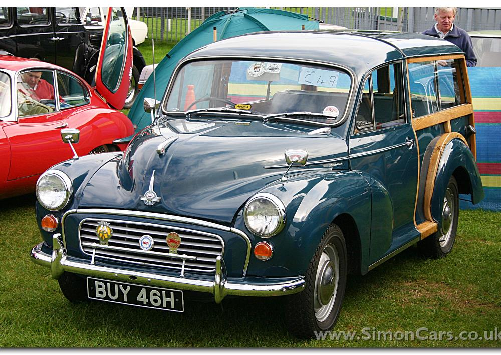 Simon Cars - Morris Minor The Morris Minor Series MM, Series II ...