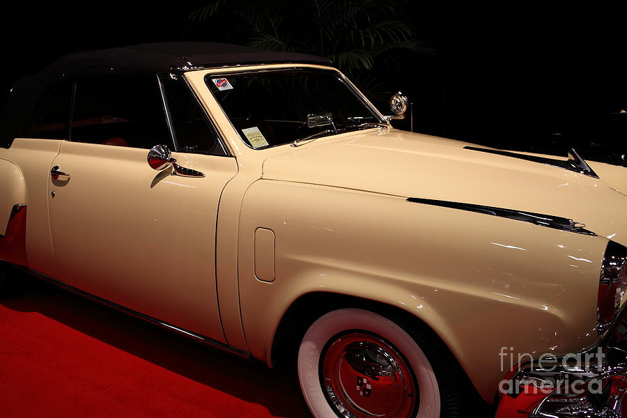 1952 Studebaker Commander Convertible - 5d19952 Photograph by ...