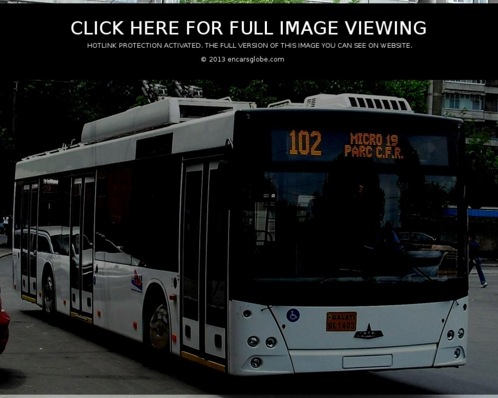 MAZ Trolley-bus: Photo gallery, complete information about model ...