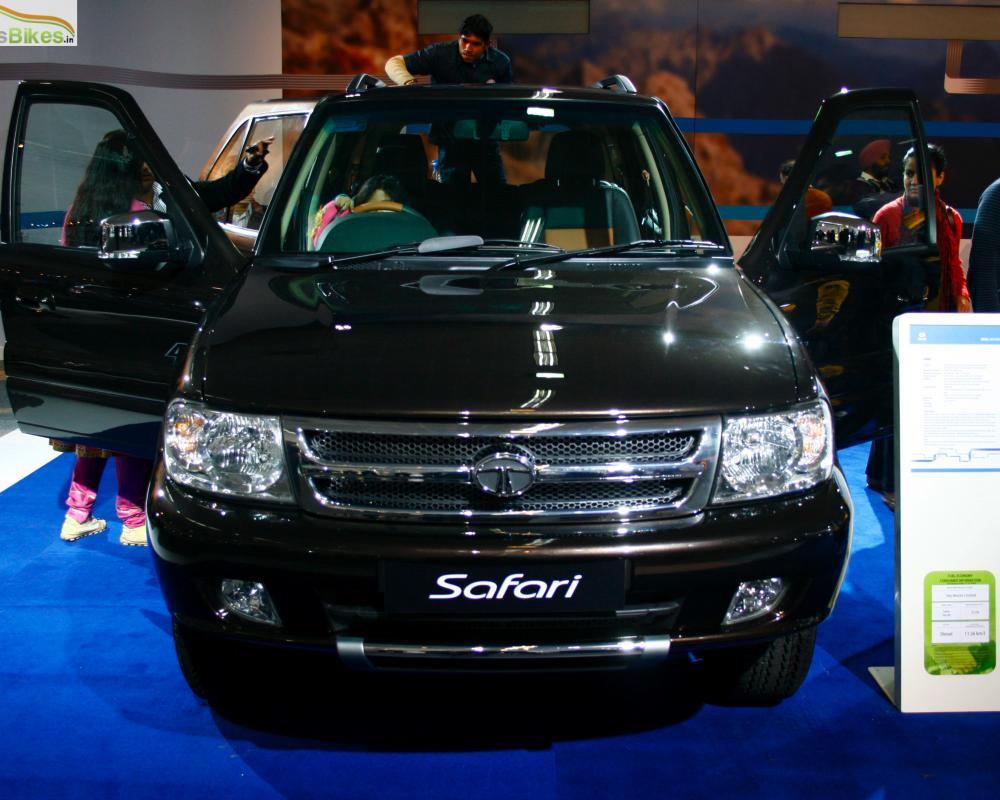 New Tata Safari SUV 2010 Auto Expo India : Indian Cars Bikes