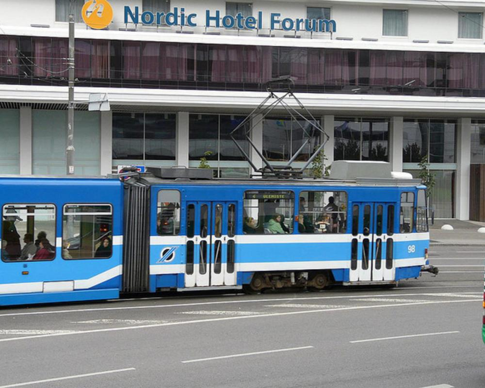 Nordic Hotel Forum and czech Tatra tram - Tallinn Estonia | Flickr ...