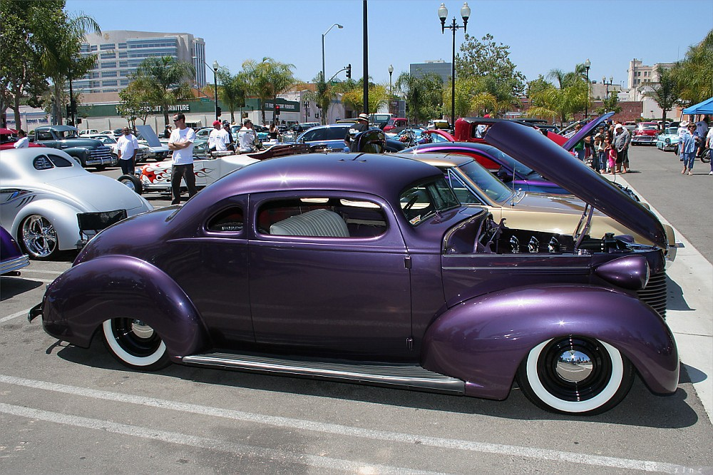 Photo: 1939 Hudson 112 Coupe - custom - purple met - svr | Santa ...
