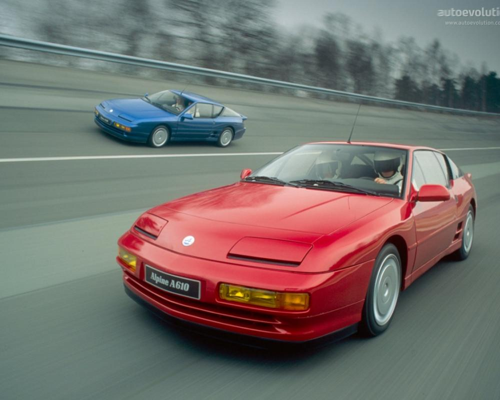 RENAULT Alpine A610 (1991 - 1994) Photo Gallery - Image #