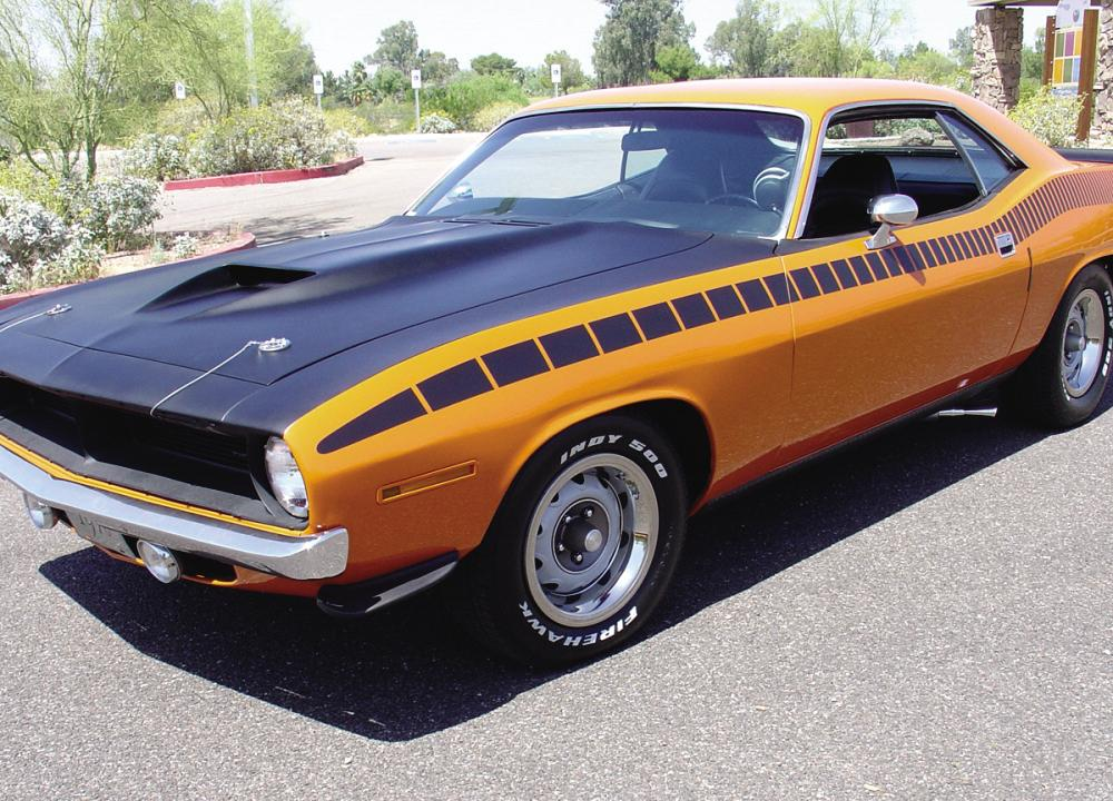 1970 Plymouth Barracuda picture, exterior