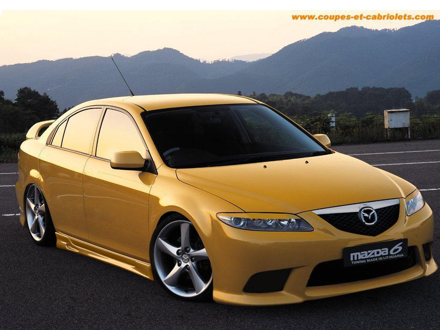 On this page we present you the most successful photo gallery of Mazda 6 23i