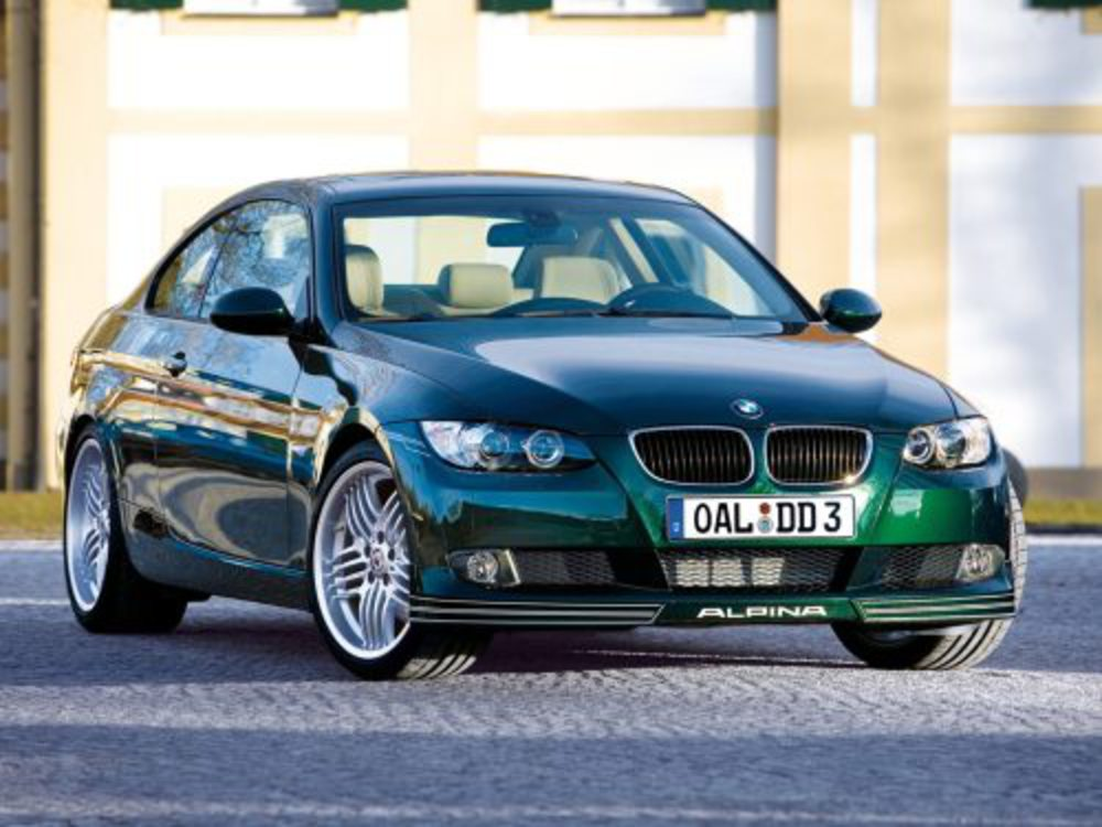 BMW Alpina D3 Bi-Turbo Coupe. Prev 1 of 4 Next