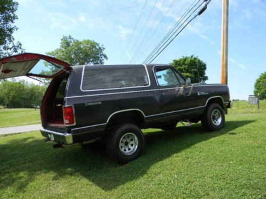 $3,200 1985 Dodge Ram Charger/Prospector in Maryville, Tennessee For Sale