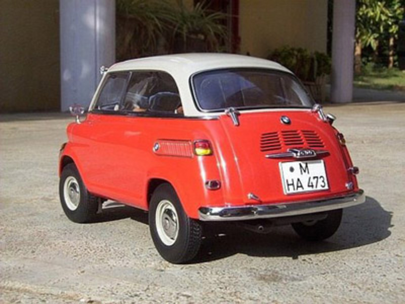BMW 600 microcar | Strange Vehicles