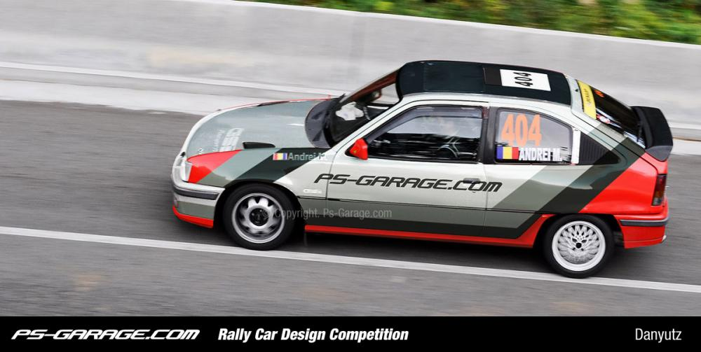 Rally Car Design Competition
