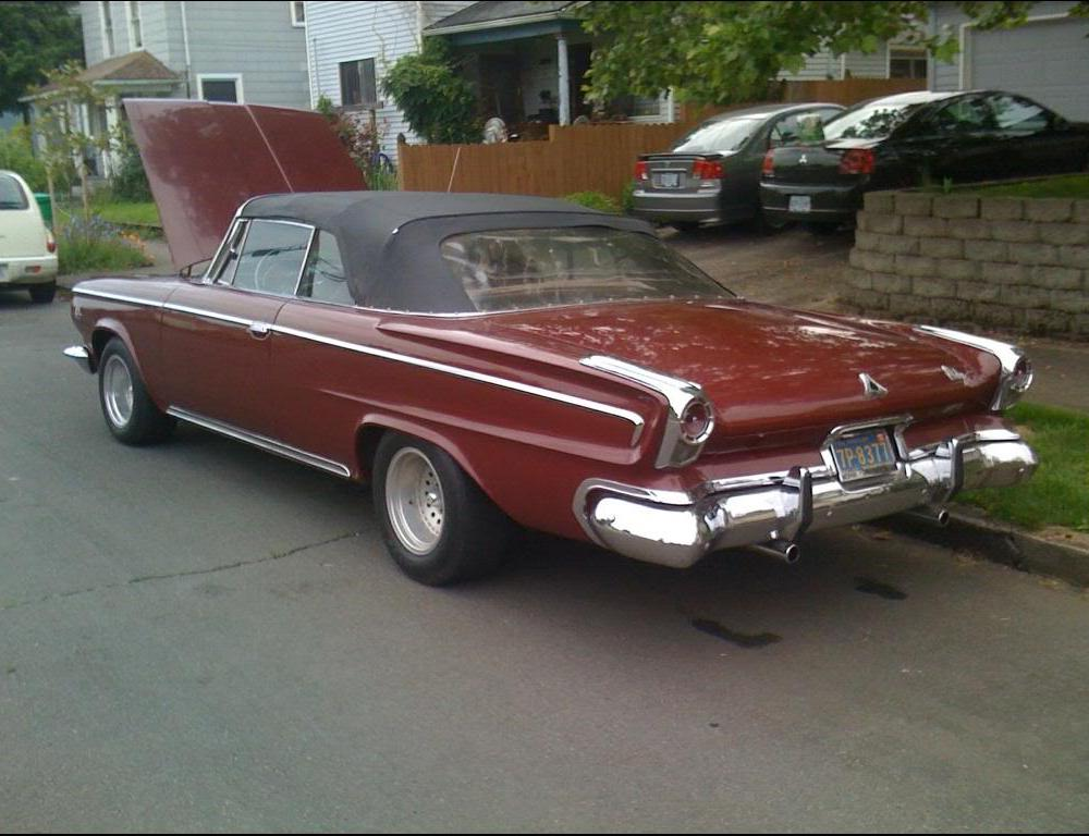 1963 Dodge custom 880 convertible - Mopar Forums