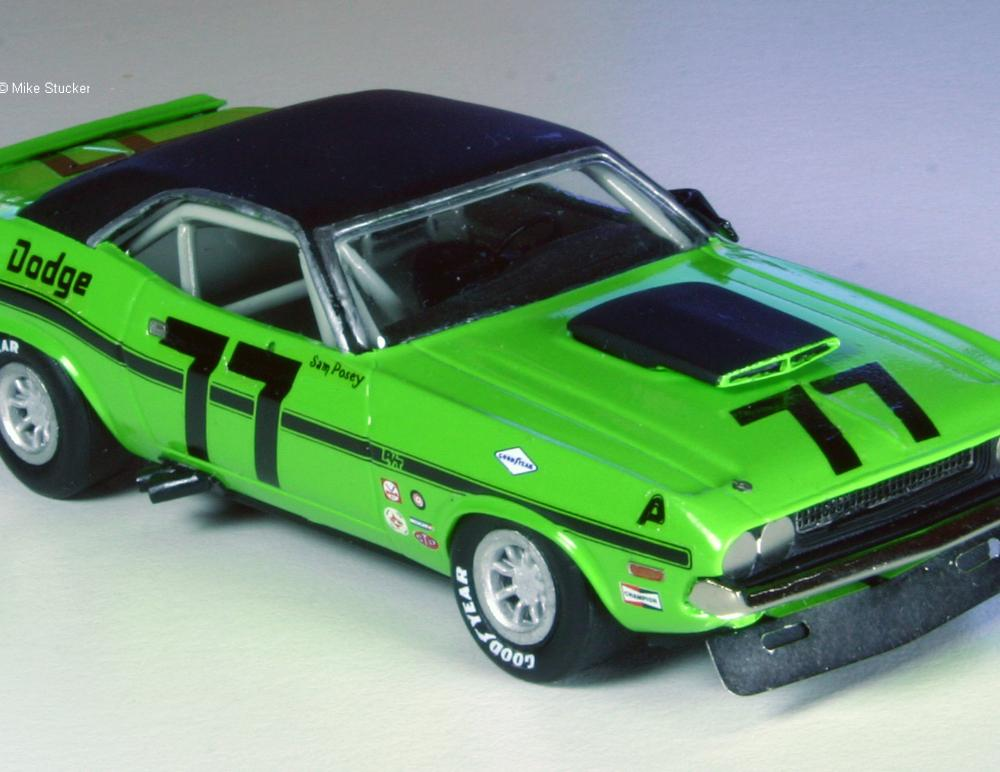 1970 Dodge Challenger Trans-Am by Mike Stucker
