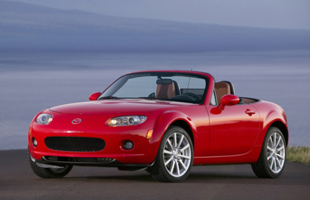 As a reasonably quick, affordable sports car, the Mazda Miata MX-5 is fun to