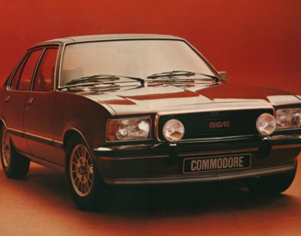 Opel Commodore Opel Commodore Image Source: General Motors Corporation