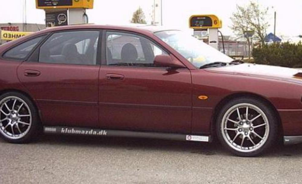 On this page we present you the most successful photo gallery of Mazda 626