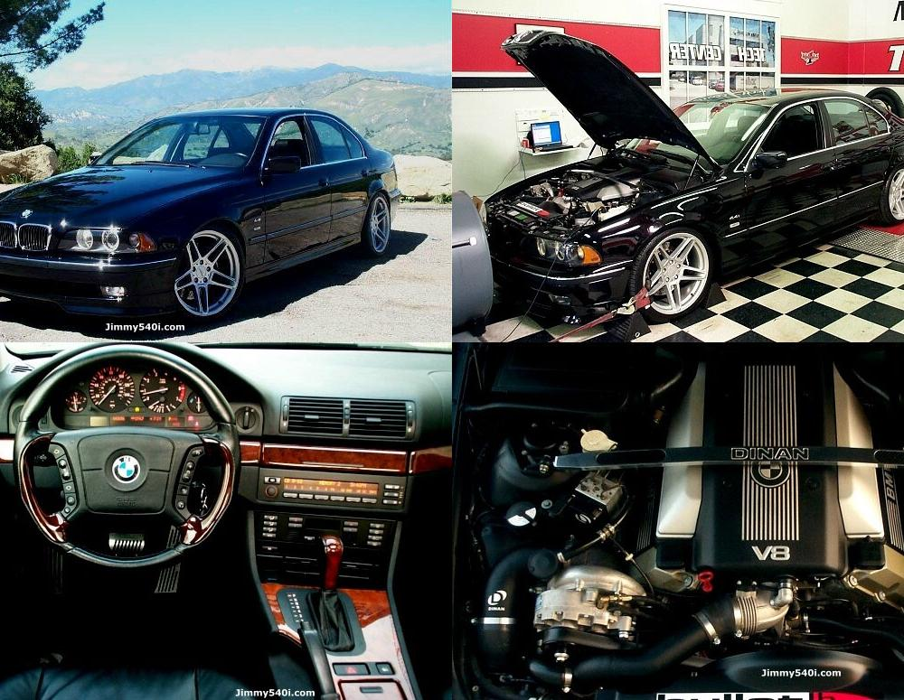 On this page we present you the most successful photo gallery of BMW 540i