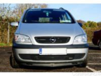 OPEL ZAFRIA great car very relible no trouble (serviced nov 2012) nct till