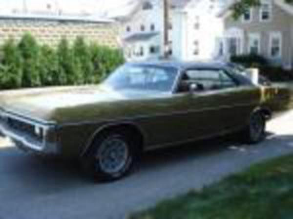 1970 Dodge Polara 2 Door Coupe W/ 383 Motor