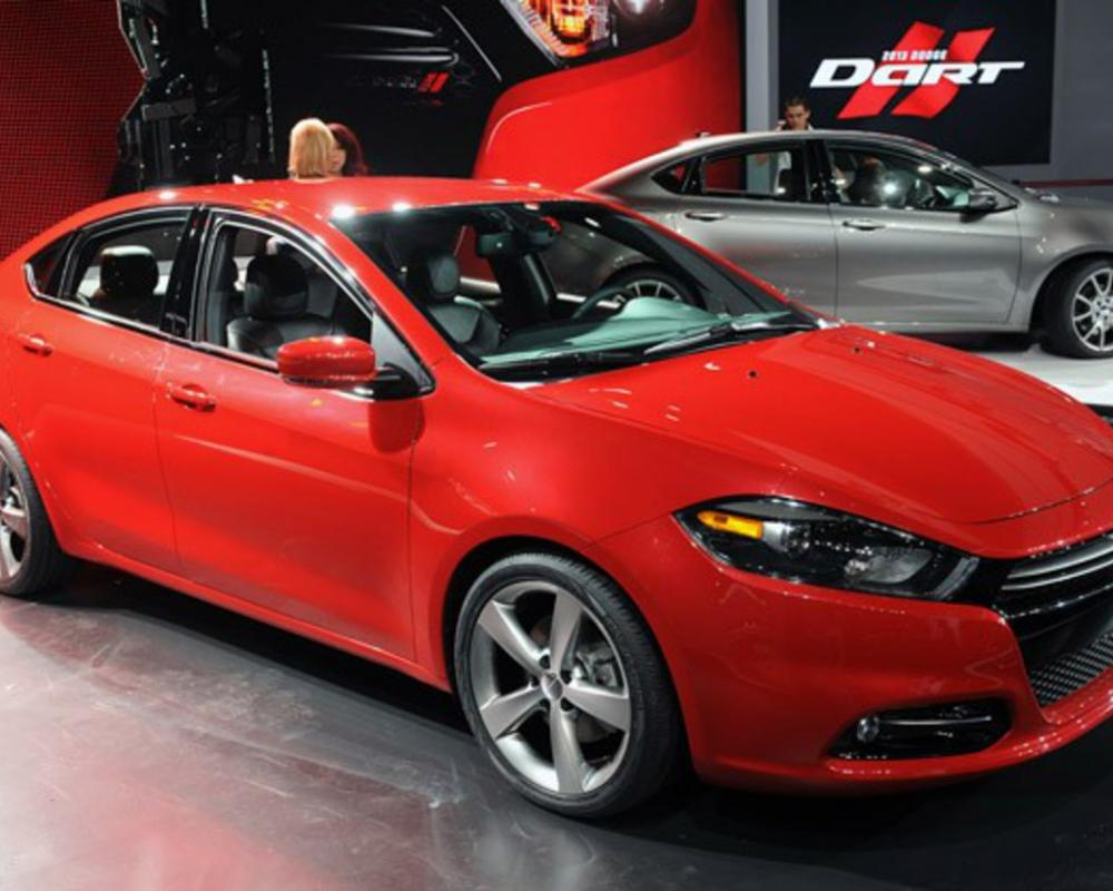 2013 Dodge Dart · Dodge just pulled the covers off its new compact sedan,