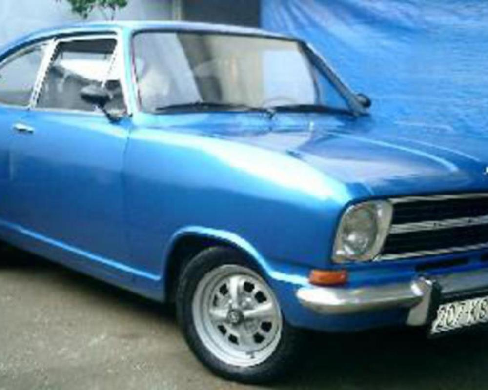 Send us a photo of a 1970 Opel Kadett B Coupe.