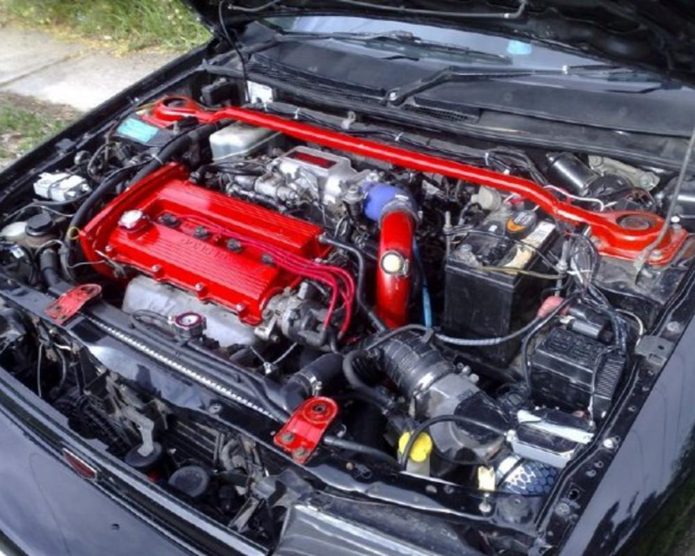 1993 Mazda Familia picture, engine