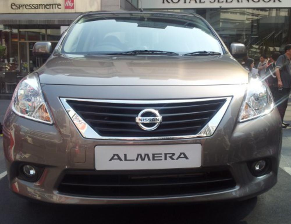 but we finally witnessed the official unveiling of the Nissan Almera by