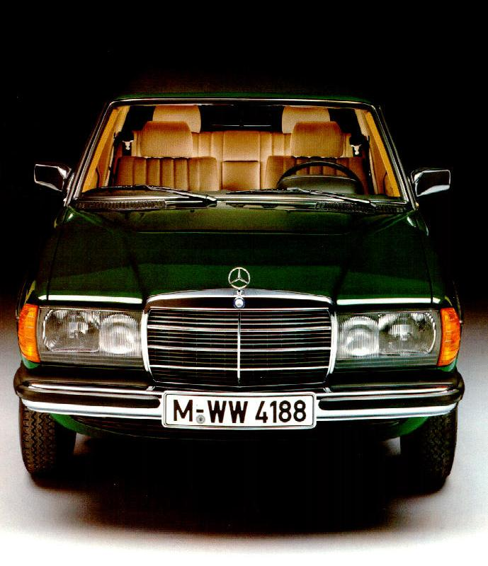 Mercedes-Benz W123 Picture Gallery