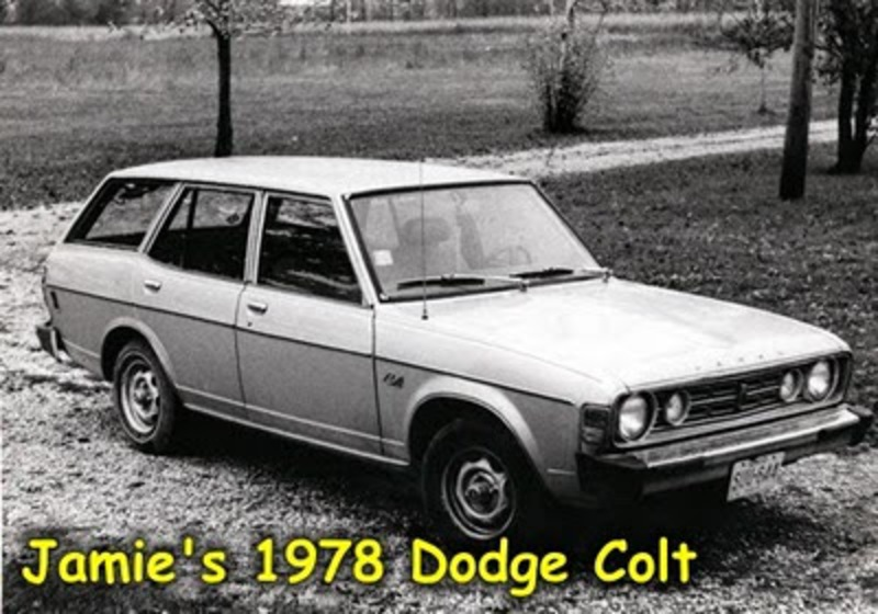 #3 - 1978 Dodge Colt Station Wagon [1984-1985] - My graduation gift was a