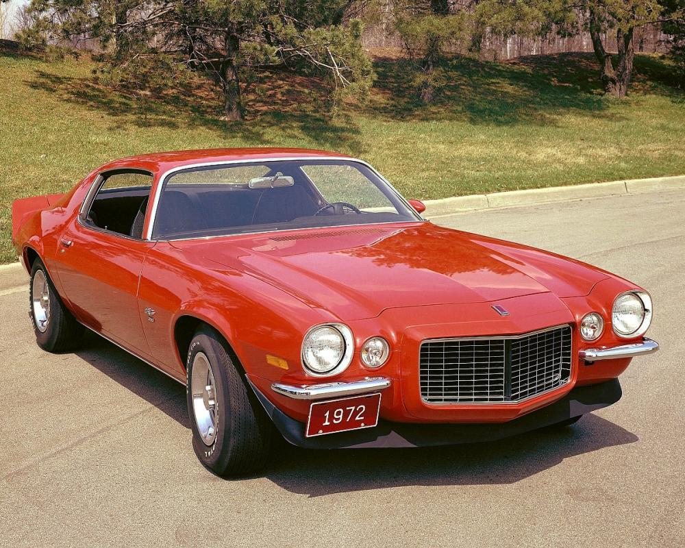 1972 Chevrolet Camaro Z28 pictures - Opens in this window - American Metal