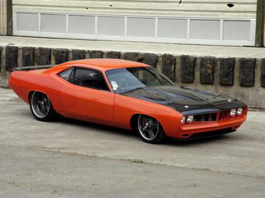 Custom G Force 1971 Plymouth Cuda