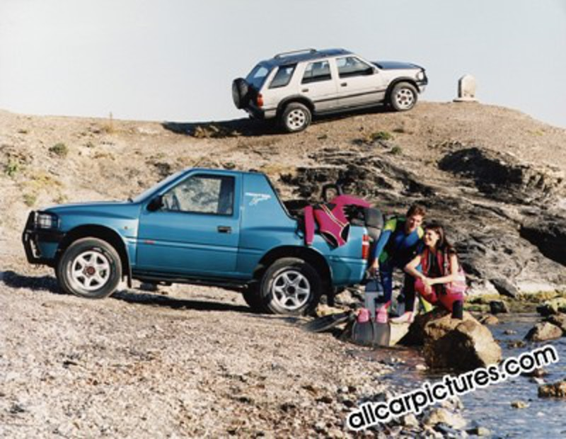 Opel Frontera Sport (1991-1998) 006. 2004-2013 All Car Pictures team