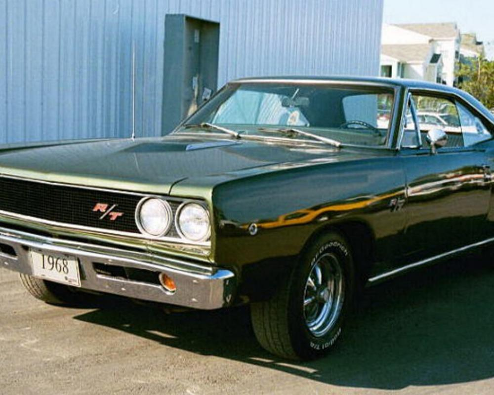 Dodge Charger 1970, Dodge Coronet RT 1968