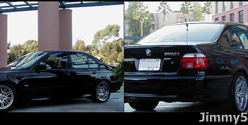 "Here is my ""ULTIMATE TWIN"" - A Dinan Supercharged BMW 540iA."