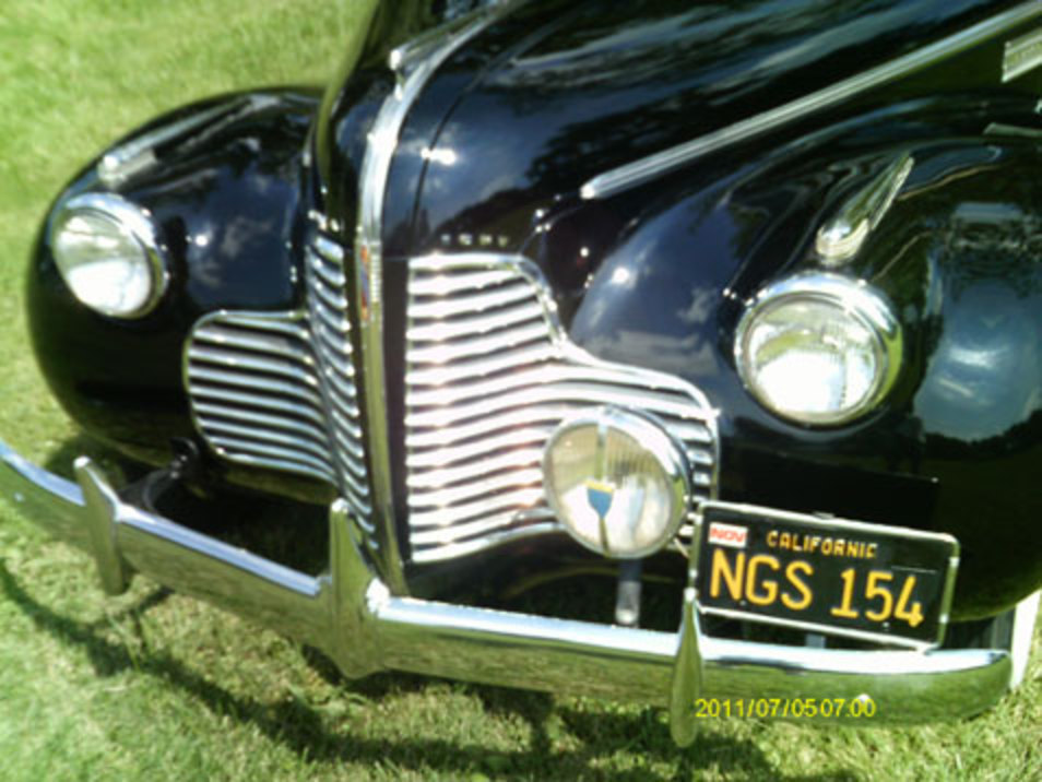 1940 Buick Super 4Dr Convertible