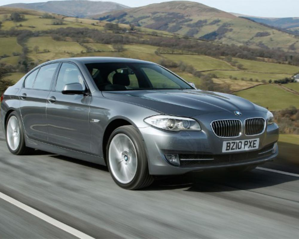2011 Bmw 520d shows better fuel economy than a Toyota Prius