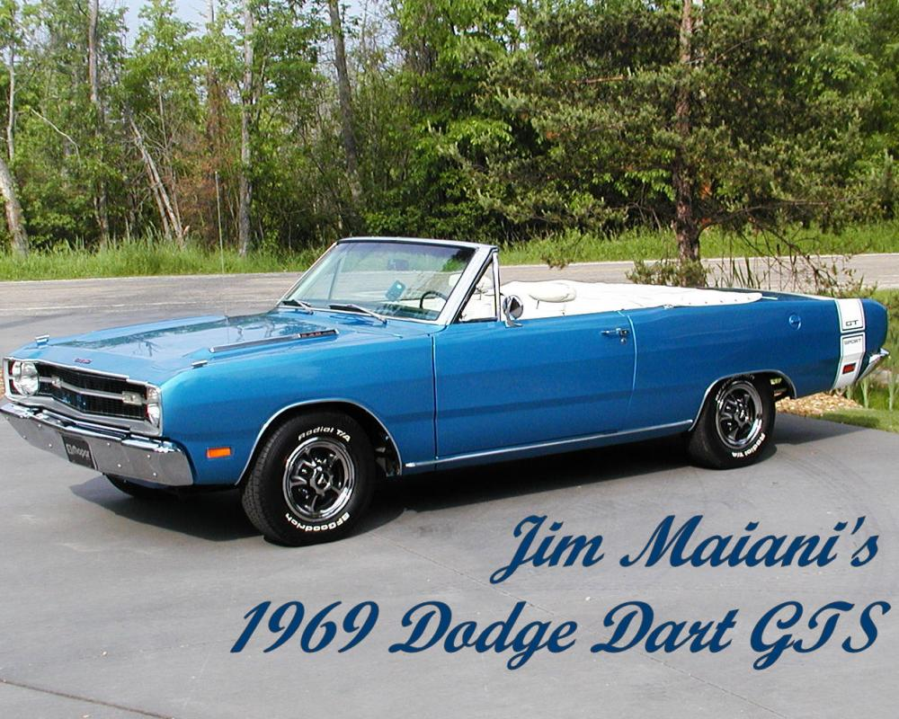 1969 Dodge Dart GTS Rusty Nutz Car Club